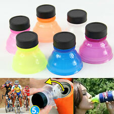 Reusable Useful 6Pcs Snap On Tops Can Bottle Caps For Cool Soda Drink Lid