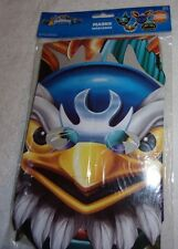 Skylanders Giants cardboard birthday party Masks 8ct 4 characters supplies