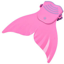 Unique Kids Girls Mermaid Monofin Flippers Real Swimmable Mermaid Tail Costumes