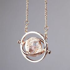 Fantasy Harry Potter Rotating Hermione Granger's Time-Turner Magical Necklace