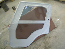 Jeep NOS Whitco CJ-5 1976-1983 LH Door White With Frame Rare Find New