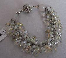 """Park Lane """"GLACIER"""" Bracelet Aurora Borealis Gems Magnetic Pretty!  Reg. $80"""