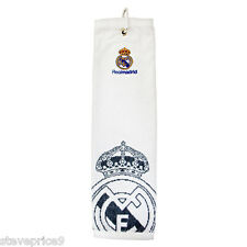 REAL MADRID FC GOLF ACCESSORIES, TRI FOLD TOWEL. BNWT