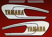 YAMAHA YB100 RESTORATION DECAL SET