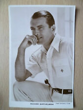 Film Star Real Photo Postcard- RICHARD BARTHELMESS, First National Films