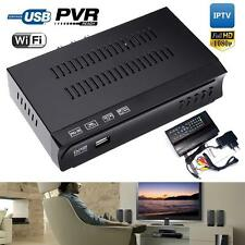 HD DVB S2 M5 Digital Satellite IPTV Combo Receiver Decoder Set Top Box PVR FT