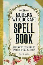 Modern Witchcraft Spell Book Complete Guide Book HC ~ Wiccan Pagan Library