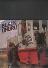 BLACK UHURU - the great train robbery EP 12""