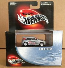 100% Hot Wheels Metal Collection Ford Focus 1:64 diecast Limited Edition NEW