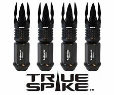 20PC VMS RACING 89MM FORGED STEEL LUG NUTS W/ BLACK POSEIDON FOR CHEVY CORVETTE