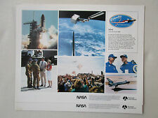 DOCUMENT NASA ROCKWELL 1 PAGE RECTO COLUMBIA STS-4 CHALLENGER 747 REAGAN