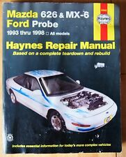 Mazda 626 MX-6 1993 1998see  Haynes 61042 Repair Manual Ford Probe Workshop