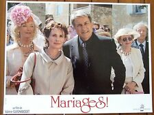 MIOU MIOU PHOTO EXPLOITATION LOBBY CARD MARIAGES