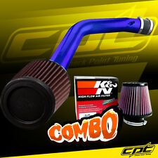 03-07 Honda Accord 3.0L V6 Blue Cold Air Intake + K&N Air Filter