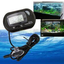 New Digital LCD Fish Tank Aquarium Marine Water Thermometer Temperature Black #A