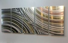 Metal Abstract Modern Painting Wall Art  Sculpture Winning Streak By Jon Allen