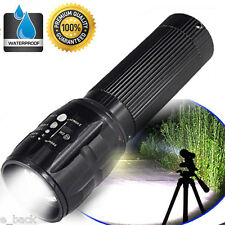 Super Bright 3000Lumens 3 Modes CREE XML T6 LED AAA Flashlight Waterproof Torch