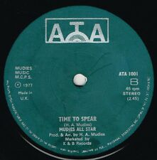 "MUDIES ALL STARS-time to spear   7""  (hear)   great dub"