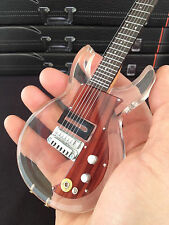Keith Richards Rolling Stones Dan Armstrong Clear Acrylic Mini Guitar