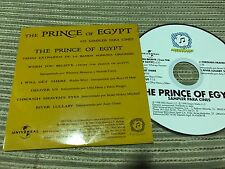 PRINCE OF EGYPT OST PROMO CD SINGLE SPAIN MARIAH CAREY WHITNEY HOUSTON OFRA HAZA