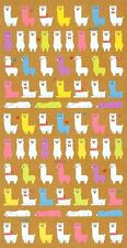 Cute Kawaii Japanese Alpaca Llama Stickers Stationery Alpacasso Craft Planning