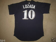 Milwaukee Brewers Spring Training Lozada MLB Game Worn Jersey 46