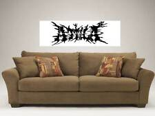 "ATTILA LARGE 48""X16"" INCH MOSAIC WALL POSTER METALCORE BAND"