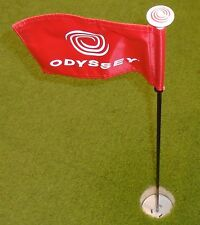 Odyssey Golf Bandiera bastone con Putting Cup