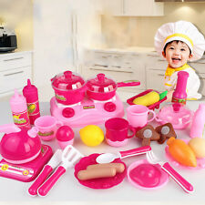 30pcs/set Baby Pretend Role Play Kitchen Educational Toy Set For Kids Child toys