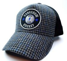 "GONGSHOW HOCKEY ""SKATE BEFORE YOU CRAWL""  HOCKEY HAT/CAP - BLACK/GRAY/BLUE"
