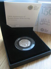 Royal Mint Beatrix Potter 150th Anniversary Silver Proof Coin Hunt 50p SOLD OUT