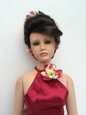 Lilly-Bella Porcelain Doll designed by Brigitte Von Messner