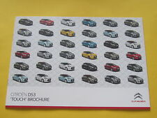Citroen DS3 2010 Touch Edition Brochure