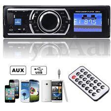 Voiture AutoRadio Stereo Audio In-Dash MP3 Lecteur FM USB SD AUX+Input Recepteur