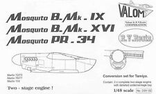 Valom DSV02 1/48 Resin Two Stage Merlins to convert Tamiya's Mosquito