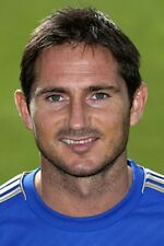 Football Photo FRANK LAMPARD Chelsea 2012-13