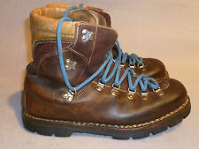 Vintage Kinney Italian Made Mountaineer Hunting Hiking Leather Boot Men 9 1/2 D