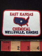 Vtg East Kansas Chemical Wellsville Kansas Patch C71C
