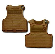 COYOTE TAN TACTICAL PLATE CARRIER US Military USMC Afghanistan Iraq MOLLE VEST