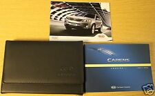 KIA CARENS OWNERS MANUAL HANDBOOK WALLET 2013-2015 PACK 1997 !