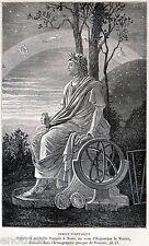 IPPARCO DI NICEA: Astronomo,Matematico,Geografo Greco Antico. Stampa Antica.1872