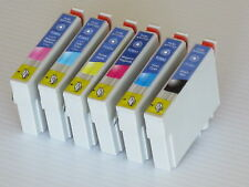 6pk For Epson Artisan 725 730 800 835 837 T0981-T0996 Ink Cartridge T098 T099