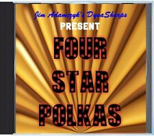 Jim Adamczyk's Dynasharps - Four Star Polkas - POLKA CD