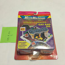 MICRO MACHINES Gas & Oil Street Corners Galoob NIB HTF FS Same Day C Playset