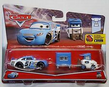 "MATTEL® CDP70 Disney® Cars Ruby ""Easy"" Oaks & Easy Idle Pitty in 1:55"