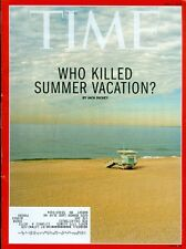 2015 Time Magazine: Who Killed Summer Vacation?/Pope Francis Visit to US/Brains