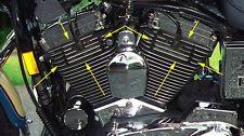 Cover Coperchio Alettato Nero Vano Candele Harley Davidson Sportster 04-15 Iron