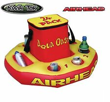 Kwik Tek Airhead Aqua Oasis Floating Cooler Boat Watercraft Pool Watersports NEW