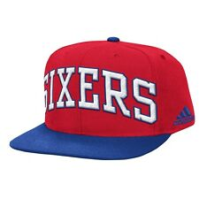 Philadelphia 76ers Adidas NBA 2015 Authentic On-Court Snap Back Hat