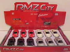 Pack of 12 Porsche 911 Turbo Coupe Die-cast Car 1:64 by RMZ City 3 inch